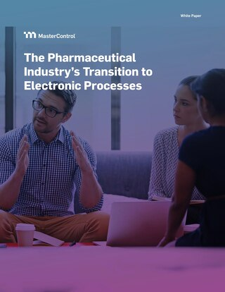 The Pharmaceutical Industry's Transition to Electronic Processes