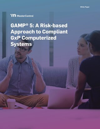 GAMP®5: A Risk-based Approach to Compliant GxP Computerized Systems