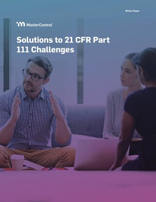 Solutions to 21 CFR Part 111 Challenges
