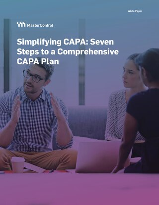 Simplifying CAPA: Seven Steps