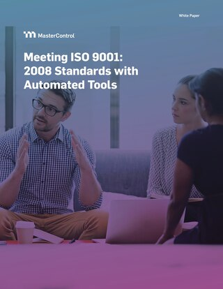 Meeting ISO 9001:2008 - Standards with Automated Tools