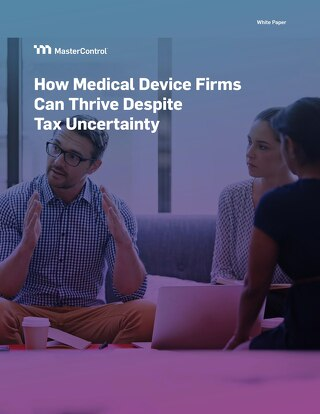 How Medical Device Firms Can Thrive Despite Tax Uncertainty
