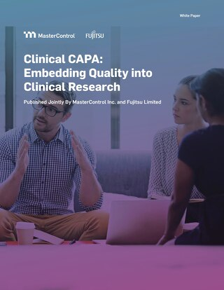 Clinical CAPA: Embedding Quality into Clinical Research