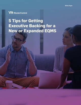 5 Tips for Getting Executive Backing for a New or Expanded EQMS