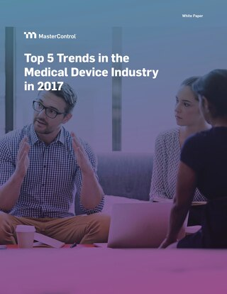 Top 5 Trends in the Medical Device Industry in 2017