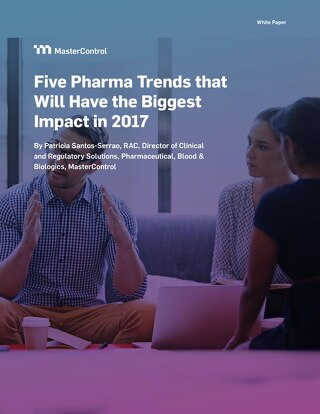 Five Pharma Trends that Will Have the Biggest Impact in 2017