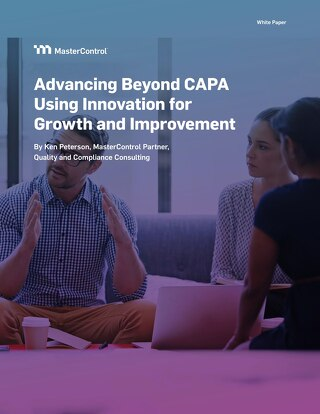 Advancing Beyond CAPA Using Innovation for Growth and Improvement