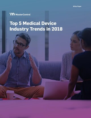 Top 5 Medical Device Industry Trends in 2018