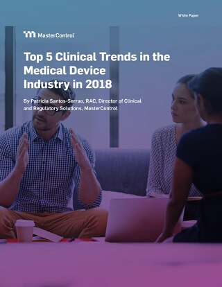 Top 5 Clinical Trends in the Medical Device Industry in 2018