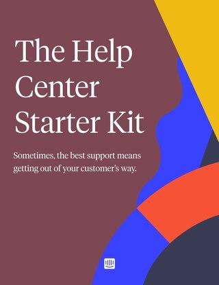 The Help Center Starter Kit