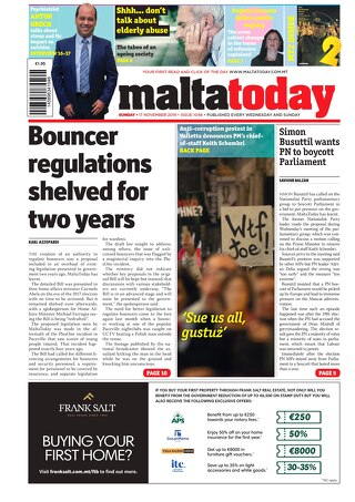 MALTATODAY 17 November 2019