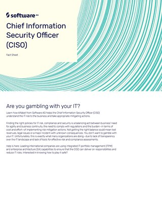 Chief Information Security Officer: Are you gambling with your IT?