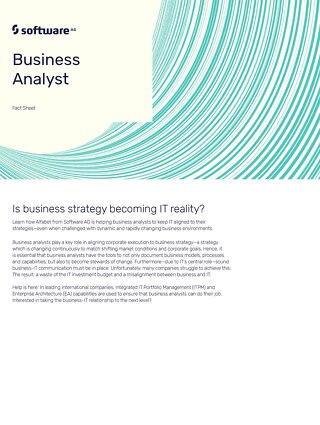 Business Analyst: Is business strategy becoming IT reality?