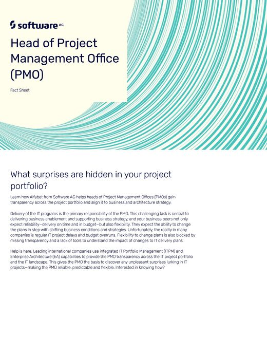 Head of PMO: What surprises are hidden in your project portfolio?