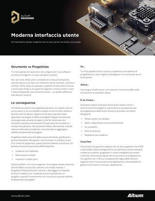 Moderna interfaccia utente