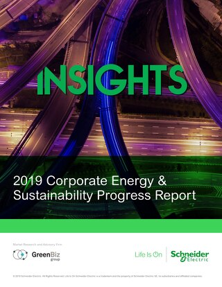 INSIGHTS: 2019 Corporate Energy & Sustainability Progress Report