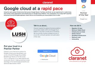 Claranet | Google Cloud Platform