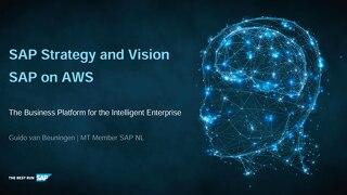 SAP Strategy and Vision - SAP on AWS 2019