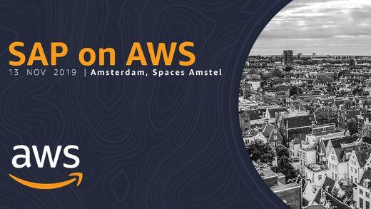 SAP on AWS keynote - SAP on AWS 2019