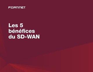 Les 5 bénéfices du SD-WAN