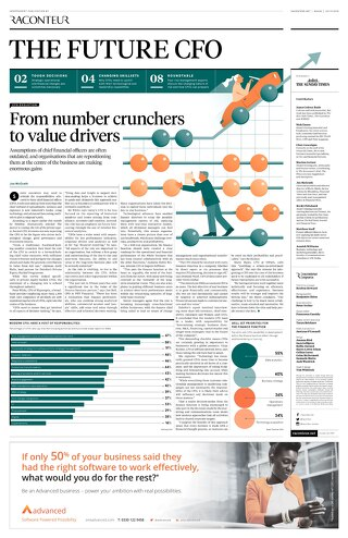 Sunday Times Report - The Future CFO