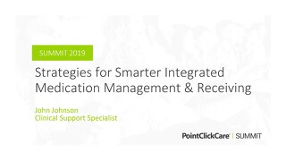 Strategies for Smarter Integrated Medication Management