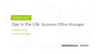 A Day in the Life of a Business Office Manager