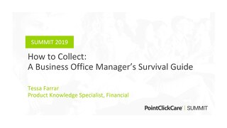 How to Collect: A Survival Guide for Business Office Managers