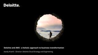 AWS Cloud Business Overview Deloitte