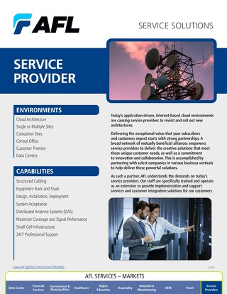 AFL Service Solutions - Service Provider