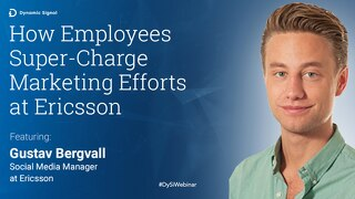 How Employees Super-Charge Marketing Efforts at Ericsson (Pres Deck)