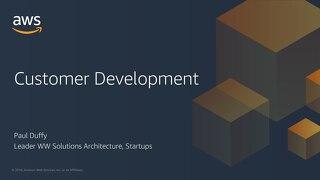 Lean Startup: Customer driven development