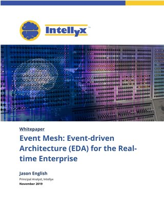 Event Mesh: Event-Driven Architecture for the Real Time Enterprise