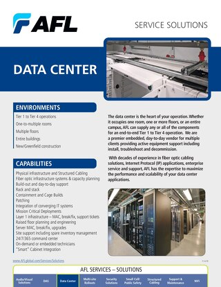 AFL Service Solutions - Data Center