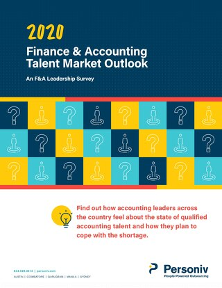 Finance & Accounting Talent Market Outlook - an F&A Leadership Survey