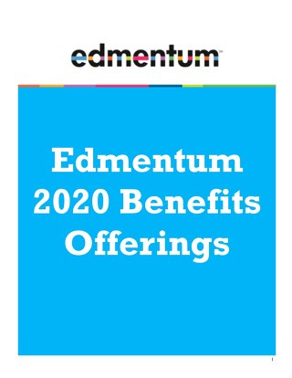 2020 Benefits Packet