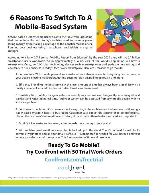 6 Reasons to Go Mobile