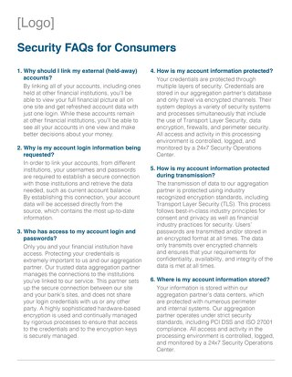 Channel Partner Security FAQs for Consumers