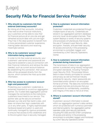 Channel Partner Security FAQs for Partner Customers