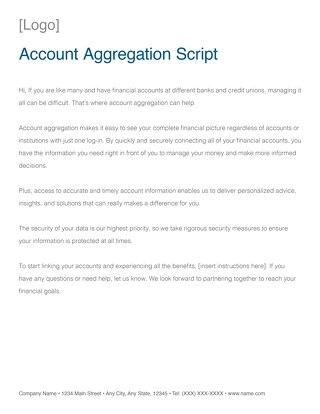 Channel Partner Aggregation Script