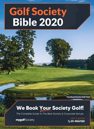 The Golf Society Bible 2020