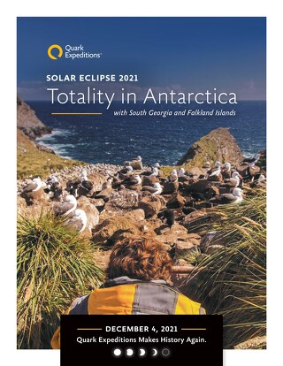 Solar Eclipse 2021: Totality in Antarctica, with South Georgia and Falkland Islands