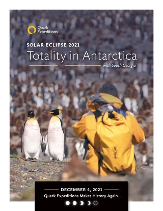 Solar Eclipse 2021: Totality in Antarctica with South Georgia