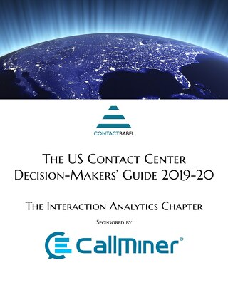 U.S. Contact Center Decision-Makers' Guide