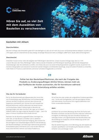 Erste Schritte mit Altium Concord Pro™