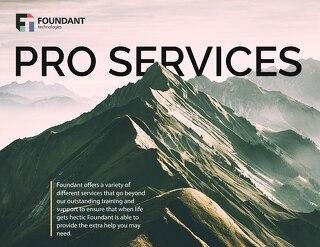 Foundant Pro Services