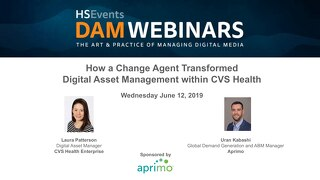 On Demand Webinar: How a Change Agent Transformed Digital Asset Management within CVS Health