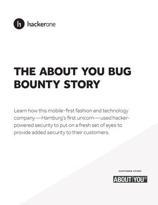The About You Bug Bounty Story