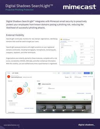 Enforcement: Mimecast Integration Datasheet