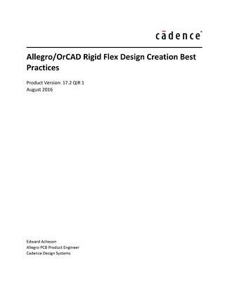 Rigid Flex Design Creation Best Practices